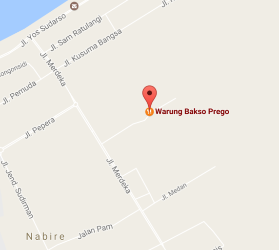 adventure whale sharks Warung Bakso Prego Map - Nabire nomads-expeditions.com